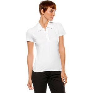 Oakley Lane Polo Women's Short-Sleeve Sportswear Shirt - White / X-Small by Oakley. $55.00. Punch up your polo look with some posh ideas of style. This is the LANE POLO, a golf design lavished with enough performance oomph to own the fairway. She's got the moisture managing moxie of O Hydrolix technology, along with antibacterial action and UV shielding. Gathers at the placket and shoulders give her a bachelorette's degree in charm school, so you'll look good whil...