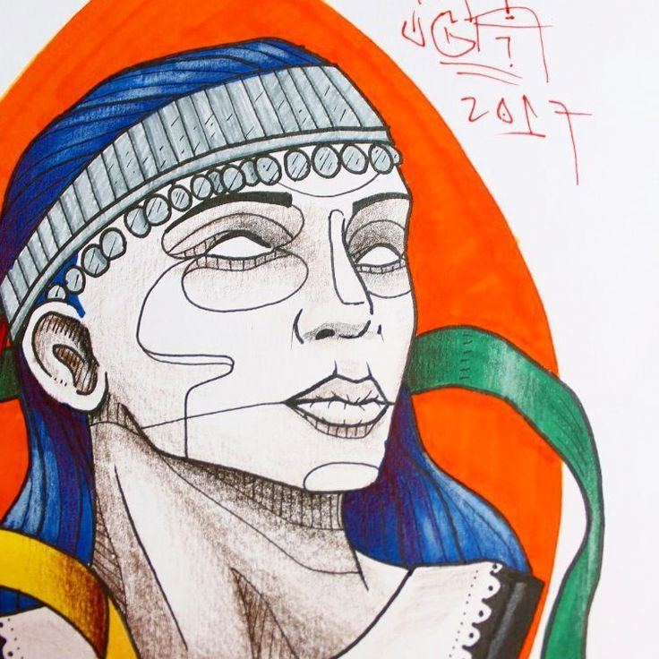Disponible para tatuar :)  #ugauga #ugaugaart #tattoo #tattoodesign #tattooart #mujer #women #mapuche #indigena #woman #girl (en Santiago, Chile)