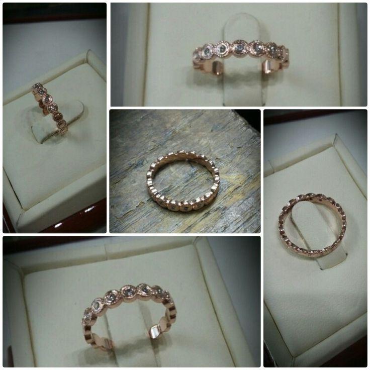 Vörös arany gyűrű