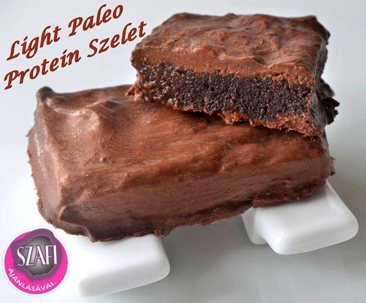 Light Paleo Dupla Csokis Protein szelet ~ Éhezésmentes Karcsúság Szafival