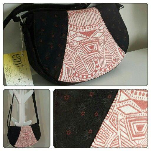 Rosie Crossbody Bag by EmBee Designs (made from Ankalia Samba Earth)