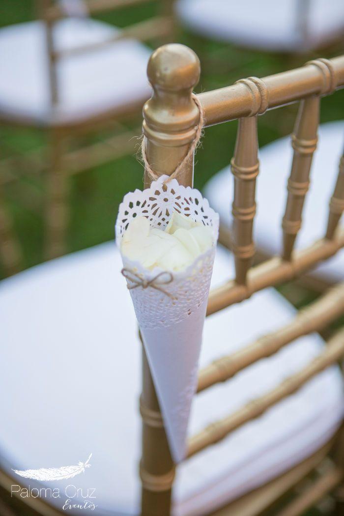 M s de 25 ideas incre bles sobre conos de confeti en - Decoracion ceremonia civil ...
