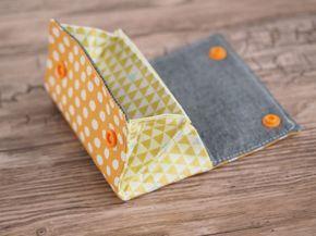 Der kleine Geldbeutel - praktisch, schnell genäht und wunderschön - die MiniMoneyBag