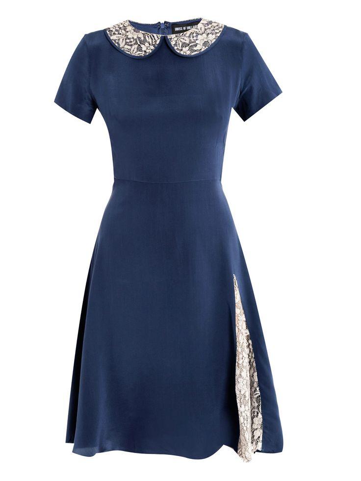 house of holland HOH-E-WLCTD dresses NAVY