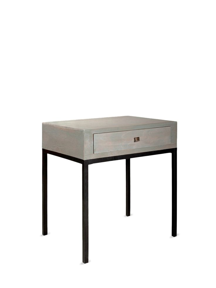 Wood And Metal Bedside Table: 36 Best Furniture : Side Table Images On Pinterest