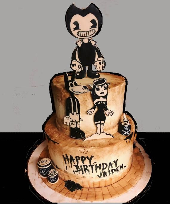 Bendy And The Ink Machine Cake Kit Bendy The Ink
