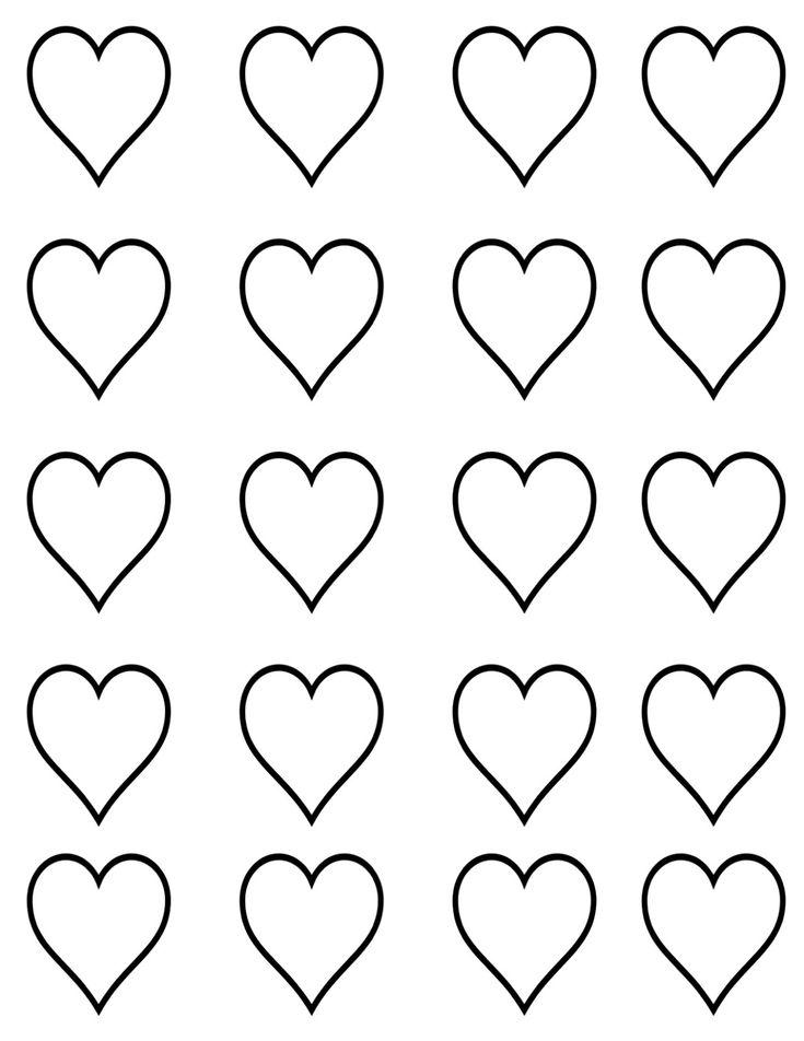 Small Heart Template | TUTORIAL} cupid heart macarons