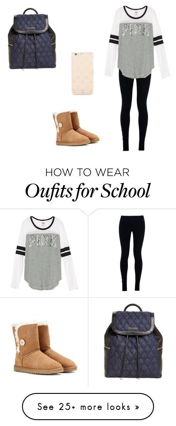 Hey guys Im back! I was busy with school. But I am going back to posting weekly by meg100 on Polyvore featuring mode, NIKE, UGG Australia, Vera Bradley et Kate Spade
