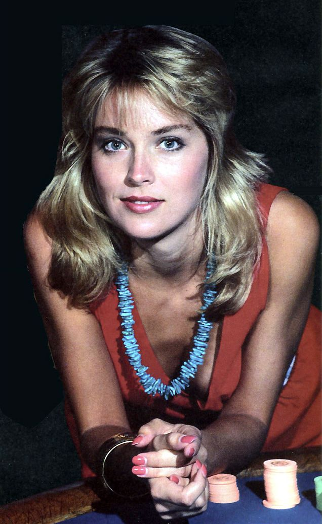 Sharon stone and movie pics