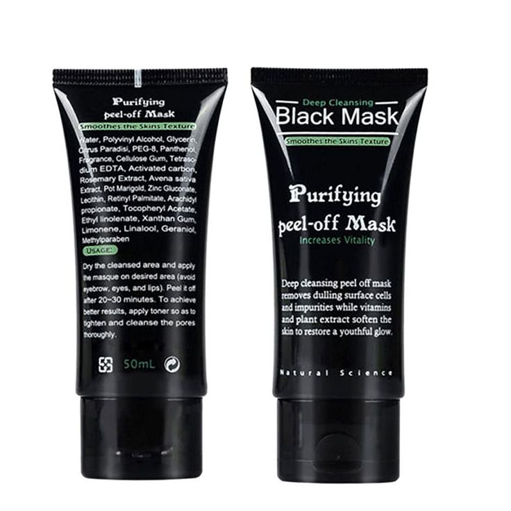 EFINNY Blackhead Remover Cream Deep Clean Purifying Peel Acne Black Mud Face Mask -- Click on the image for additional details.