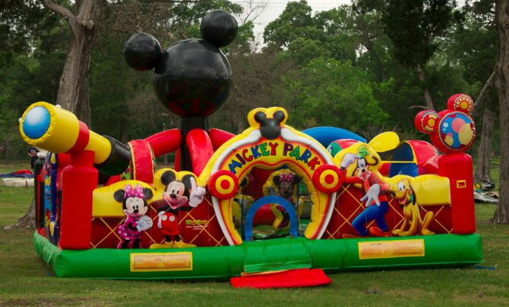 Disney's Mickey Mouse Toddler Playhouse. The new Walt Disney's Mickey Mouse Toddler Moonwalk Rental is now available for rental to Houston, Texas and surrounding areas. Online Rental available 24/7 at http://www.skyhighpartyrentals.com/toddler-mickey-mouse-moonwalk-disney  Or Call 281 606-5867 Monday thru Friday 9am-6pm