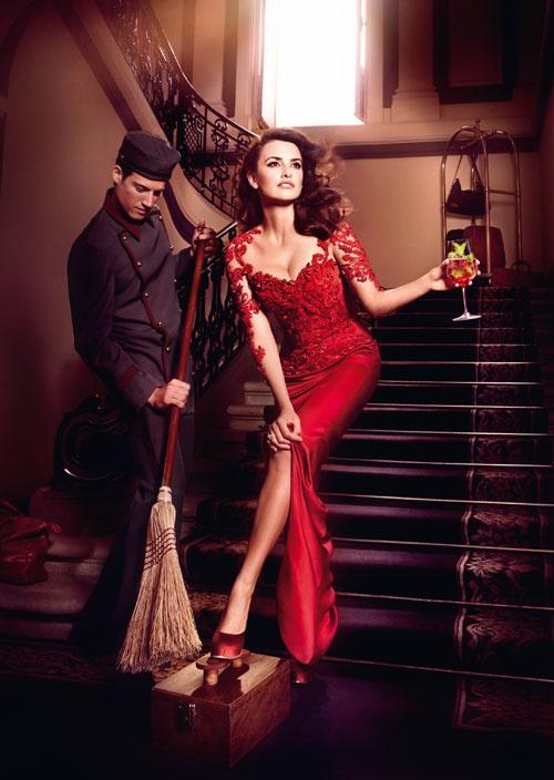 """Todas las fotos de Penélope Cruz  en el calendario Campari 2013 (""""Kiss Superstition Goodbye"""")"""