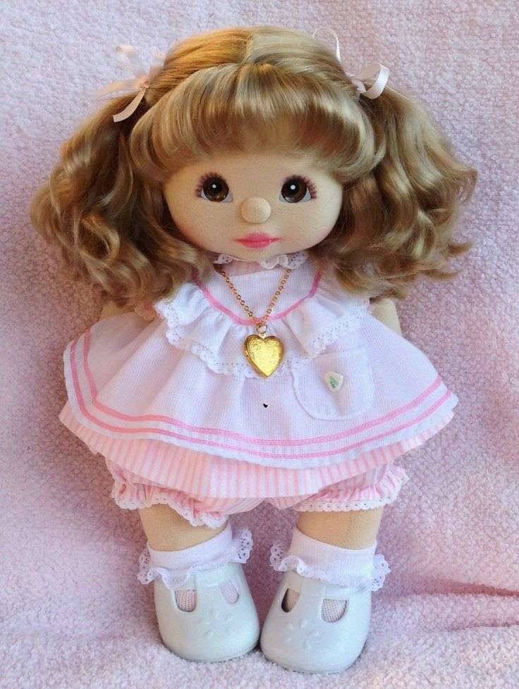 MY Child Doll ASH Blonde Very Good Cond Combo