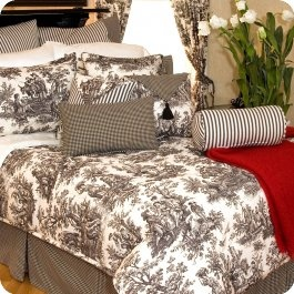 17 best images about toile on pinterest red bedding