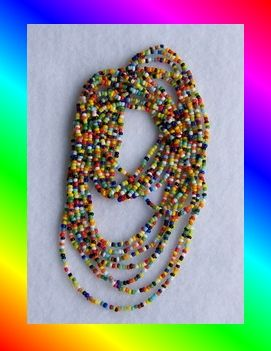 Love Beads. Oh yes I wore these in the 70s