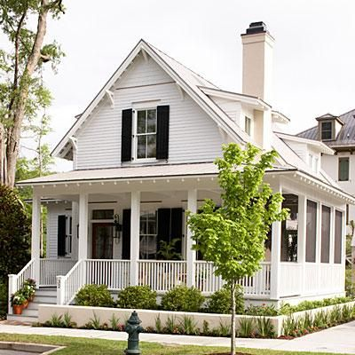 Sugarberry Cottage, Plan #1648   This classic one-and-a-half story home takes advantage of every square inch of space.   SouthernLiving.com