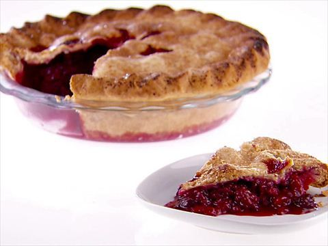 Blackberry Raspberry Pie from Giada at Home: Edits after trying: Use three 12oz bags of frozen fruit, 1/2tbsp cinnamon