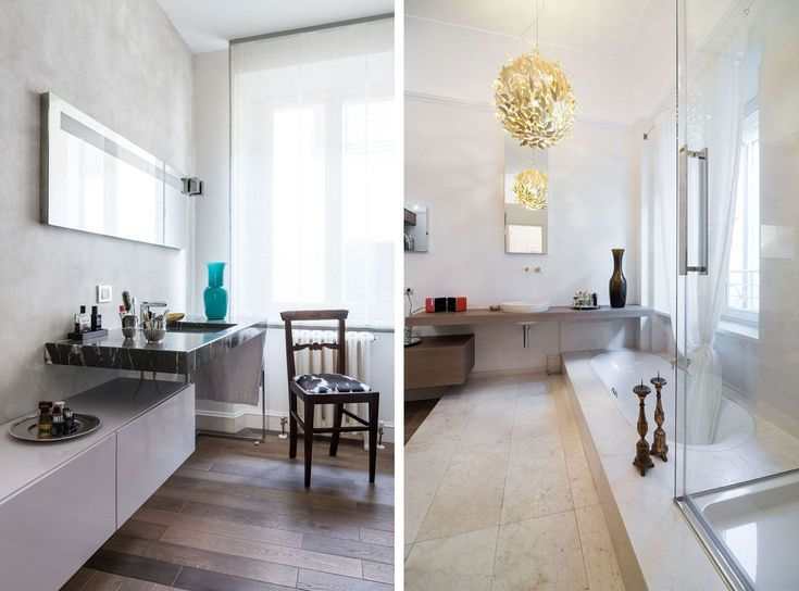 Projects:   Iconic design in an eighteenth century property |   Agape accessories, Bianchi e Fontana shower cubicle.