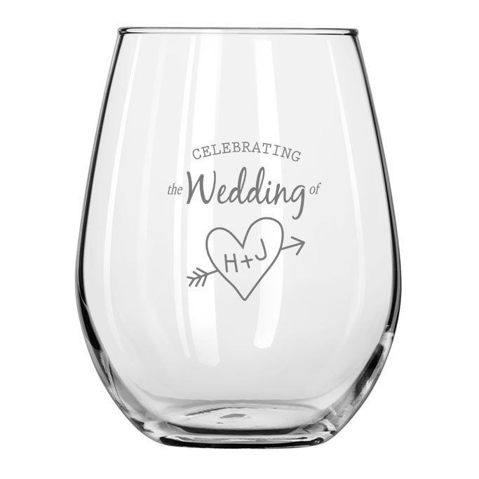 Personalized Stemless Wine Glass 12 Oz Set Of 36 Customize With Your Logo Name Info By Occasionall Stemless Wine Glass Wine Glass Personalized Wine Glass