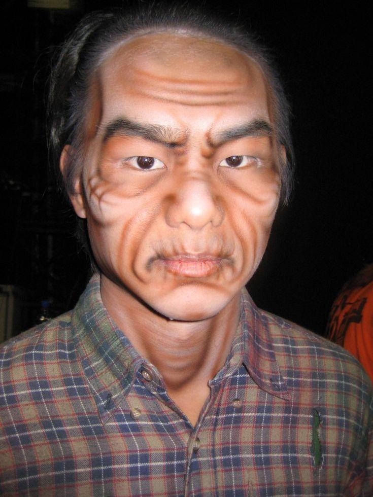 10 best old makeup images on Pinterest   Makeup class, Old man ...