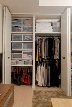 収納王子 コジマジックさんによるお部屋改造現場から紹介する 片付け&収納の極意。いよいよ、みんなの収納お困りアイテムNo.1・洋服の収納法を王子に教えてもらいましょう。