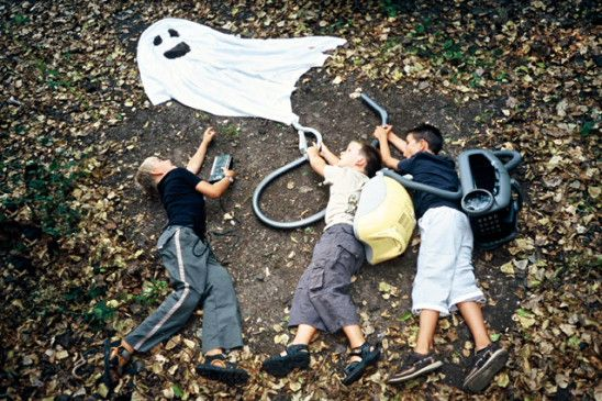 GHOSTBUSTERS! cute ideas for kids' photography!