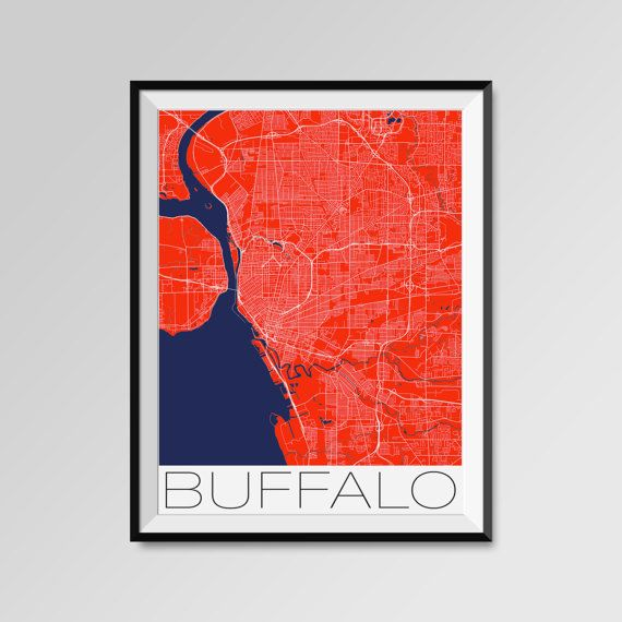 Best 25 Buffalo map ideas on Pinterest Buffalo ny county