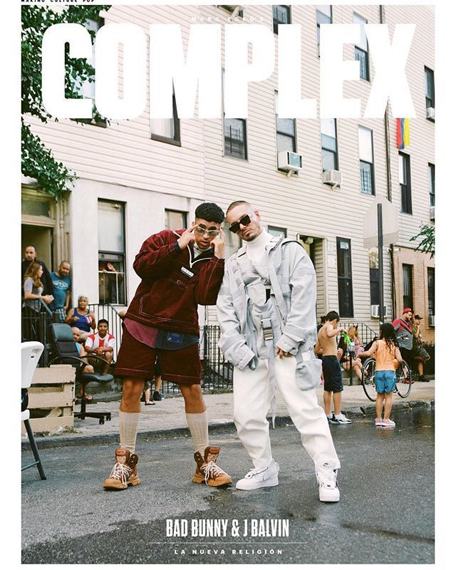 Bad Bunny J Balvin X Complex Bunny Fashion Bunny Outfit Coachella Outfit