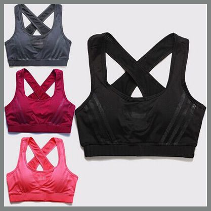 Cheap bra fashion, Buy Quality shirt heat directly from China shirt bra Suppliers: Sports Vest for Women 2015 new brand fitness running tank tops jogging yoga crop tops tennis badminton active camisoleUS