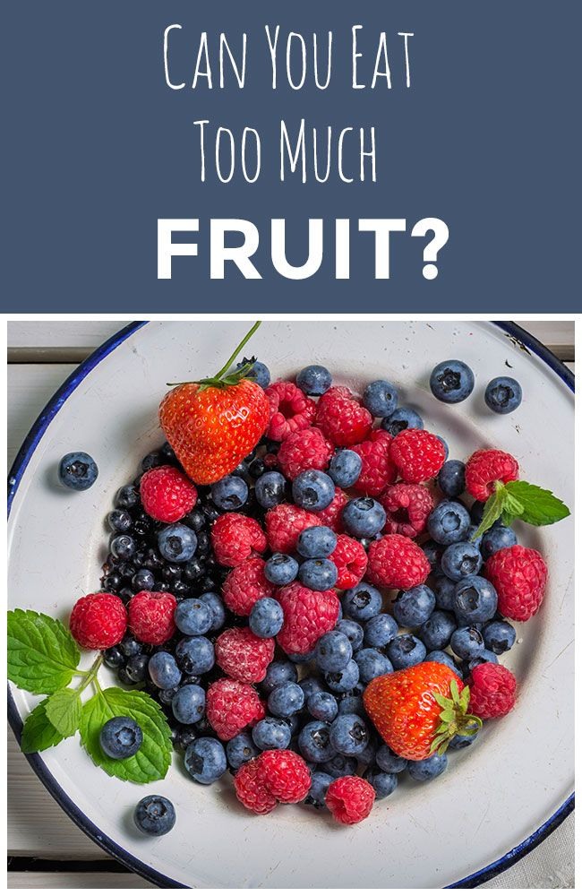 Is it possible to eat too much fruit? Find out what our Nutrition Expert has to say. #fruit #nutrition #sugar