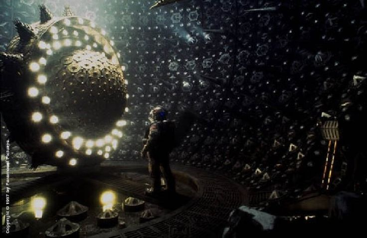 Event Horizon. I think it is safe to say this is the most horrific sci fi I count as one of my favorites.