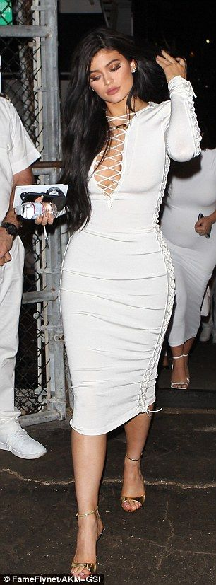 Wonders in white: Kendall and Kylie Jenner looked fabulous as they attended the boat party for sister Khloe Kardashians man James Harden in Marina Del Rey on Tuesday night