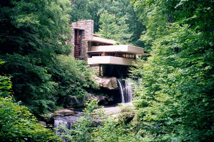 One of western PA most beloved homes.  It can not be seen too many times.  This Frank Lloyd Wright home was way ahead of its time.  The setting is beautiful in any season.