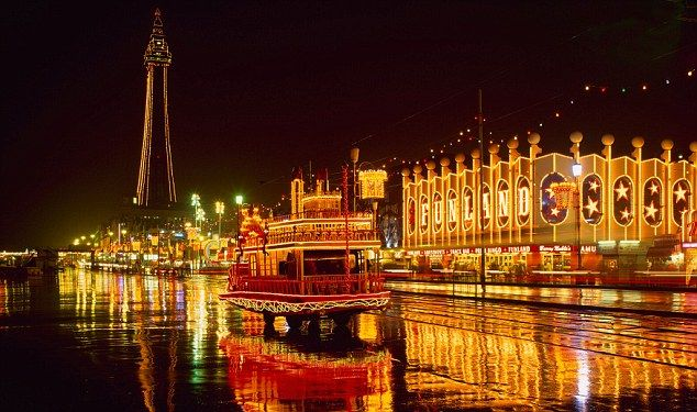 Blackpool Tower and Illuminations