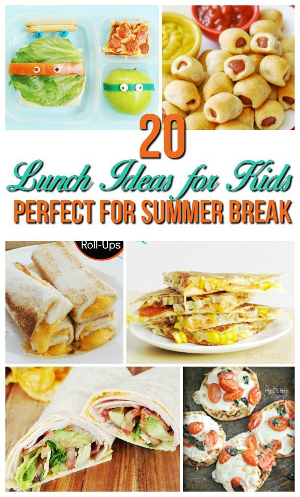 22 Lunch Ideas For Kids At Home