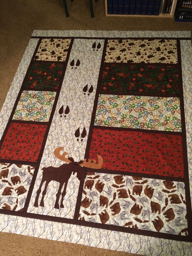 Moose Tracks quilt
