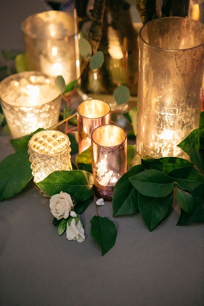 You can't never go wrong with candle lights. Whenever you are in doubt or run out of ideas, light up several candle lights to lighten the mood the create a romantic atmosphere like no other.