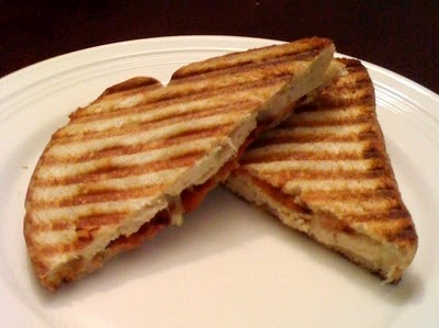 Chicken Bacon Ranch Panini (might try with BBQ sauce)
