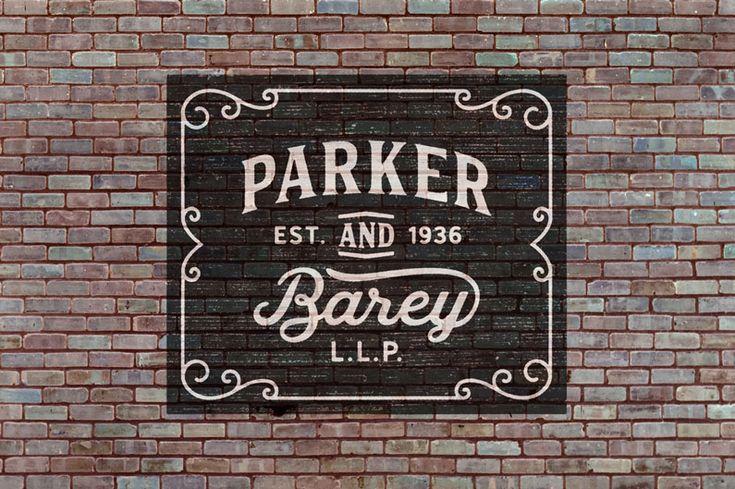 Hanley Vintage Font Collection
