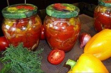 Салат из помидоов на зиму пальчики оближешь: рецепты вкусных заготовок