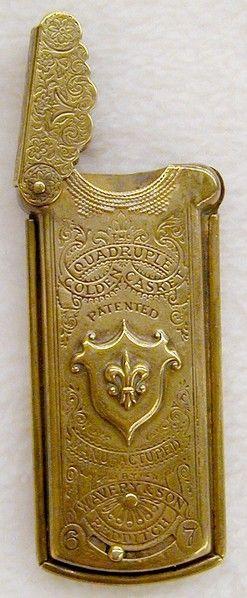 Needle Case / Little brass dress.