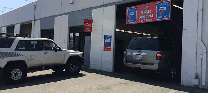 California star certified smog check stations with 4 locations to serve you. 10 minute song check and free re-test within 90 days.