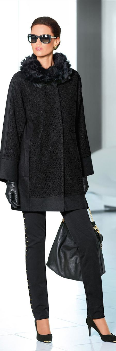 Love everything about this outfit!   New Fall 2014 Arrivals from Madeleine......Coats