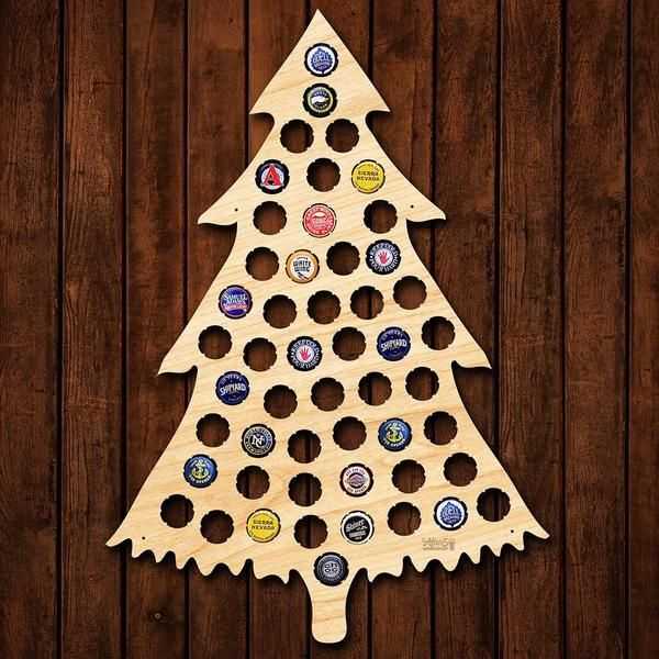 22 best beer bottle cap signs images on pinterest craft for How to make a beer bottle christmas tree