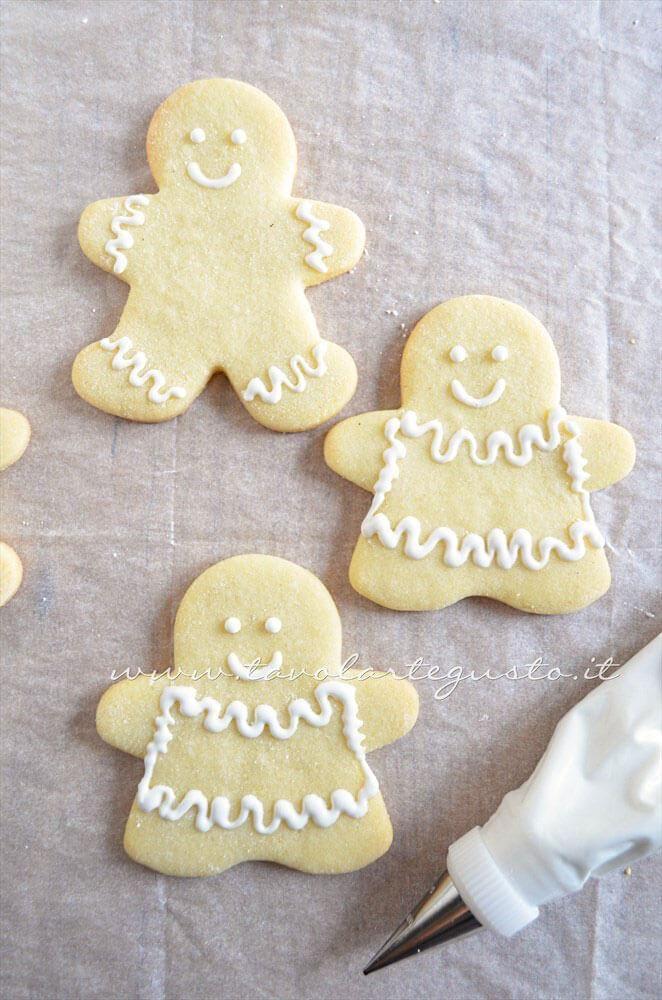 Ricetta Biscotti Di Natale.Biscotti Natalizi Decorati