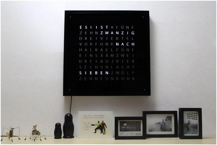 minus78 diy w rteruhr qlocktwo replica diy home decor. Black Bedroom Furniture Sets. Home Design Ideas