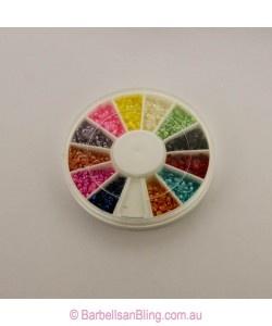 $7.50 Pearl Stone Wheel - Teardrop