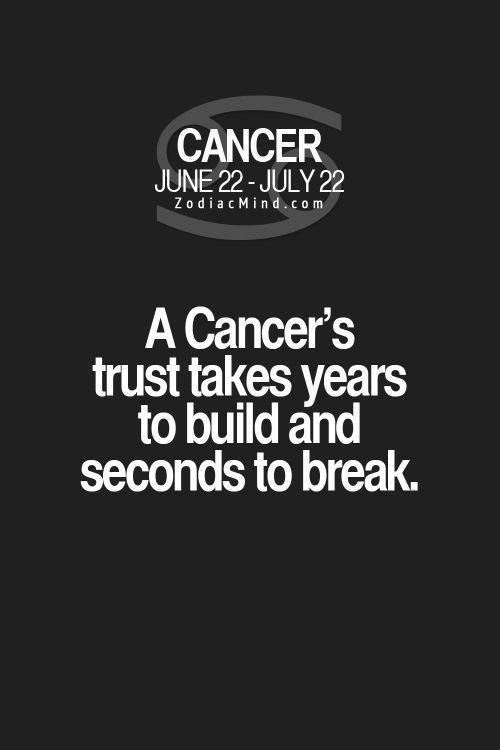 Daily Horoscope Cancer  zodiacmind  Daily Horoscope Cancer 2017 Description Cancer zodiac sign  trust issues