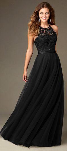 Amazing Tulle Jewel Neckline Natural Waistline Floor-length A-line Bridesmaid Dresses