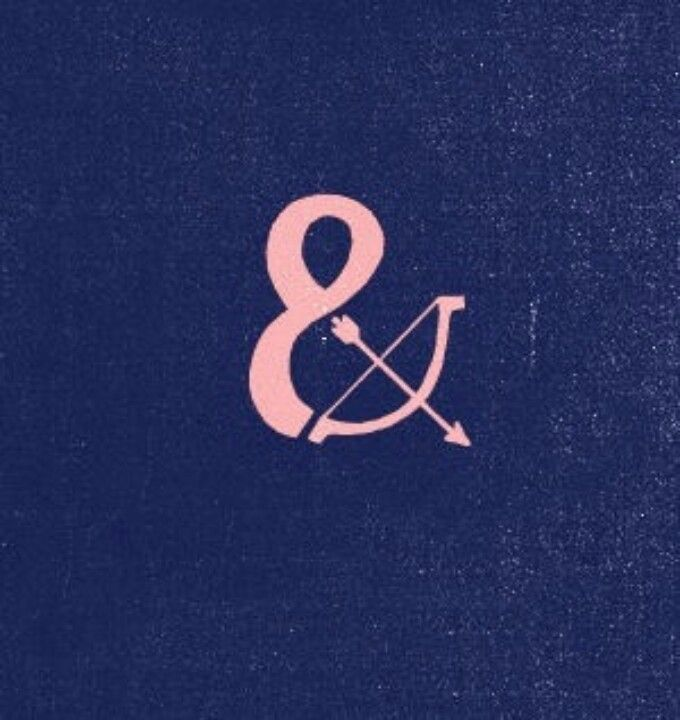 I like this ampersand too. Double symbolism.